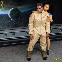 №662. After Work (OylOul) Tags: oyloul 2019 q4 dec 16 doll action figure soldier story barbie curvy custom title
