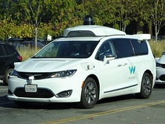 Autonomous Driving Pacifica (harry_nl) Tags: usa 2019 california chrysler pacifica waymo autonomous driving mountainview