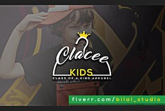 Clacee Kids - Modern Logo Designs (Bilal Studio) Tags: modern logo design designs logos minamilist graphic