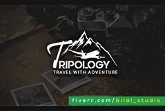Tripology - Modern Logo Designs (Bilal Studio) Tags: modern logo design designs logos minamilist graphic