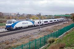 La azulona (yagoortiz) Tags: tren renfe 252 252070 grandeslineas gl altaria elcasar getafe talgo intercity madrid valencia