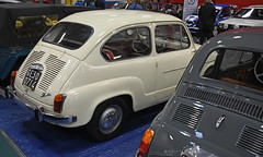 Fiat 600 D (1962) // GE-300714 (baffalie) Tags: auto voiture ancienne vintage classic old car coche rétro expo italia sport automobile racing motor show collection club course race circuit italie turin fiera