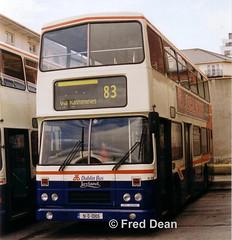 Dublin Bus RH105 (91D10105). (Fred Dean Jnr) Tags: dublinbus ringsend leyland olympian alexander rh rh105 91d10105 ringsendgaragedublin january2003 dublin rend dublinbusbluecreamlivery j830cev