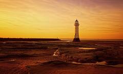 I Stand Alone (Caleb4Ever) Tags: lighthouse newbrightonlighthouse newbrighton merseyside caleb4aver sunset beach sand northwest england uk le longexposure outside national