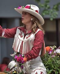 She Rides (Scott 97006) Tags: woman female lady blonde equestrian rider cowgirl cute pretty beautiful riding