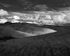 Fort Ord 5 (rabidgood) Tags: fortord monterey landscape blackandwhite clouds storm moody