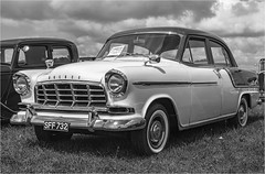 Holden FC (1958) #2 (Clive1945) Tags: d7100 gloucestershiresteamextravaganza classic car mono bw 1958