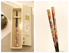 Handmade Japanese Chopsticks,handmade, hand painted wooden box ,Personalised Engraved Chopsticks/ Party Gifts/Wedding Favours,Wedding Gift, birthday gift, holiday gift and japanese packaging ideas (charles fukuyama) Tags: illustration partygift unique custom japanstyle wooden anniversarygift christmasgift xmas art engravechopsticks tablewear dinnerware kikuikestudio valentinesgift 箸 京都 kyoto chopstickset 箸セット chopsticksbrown handpainted 手塗り 夫婦箸 japanesepackaging