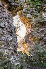 The Hole in the wall  ( EXPLORE ) (Jez22) Tags: suttonvalence castle kent england holeinthewall ragstone 12thcentury photography copyright jeremysage hole wall ruin remains light golden glow moss ancient norman in explore