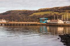 Fairlie Yacht Haven Peir (Briantc) Tags: scotland ayrshire northayrshire fairlie yachthaven reflections peir