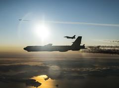 191106-F-HF102-0187 (AirmanMagazine) Tags: combatcamera btf 201 bombertaskforceeurope fairford b52 2ndbombwing usafe stratofortress 96thbombsquadron norway arctic f16 fightingfalcon norwegianroyalairforce interoperability nato raffairford unitedkingdom
