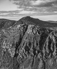 Ben Crom and Doan (Donard850) Tags: northernireland countydown mournemountains bencrom doan fuji fujixt20 rocks crags landscape monochrome blackandwhite