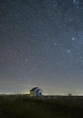 South Dakota Stars_LCH4707 (snolic...linda) Tags: southdakota farmhouse farmstead night stars starphotography lightpainting nightsky starlight astrophotography