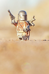 LEGO Mandalorian (weeLEGOman) Tags: lego mandalorian mandalore star wars minifigure toy macro photography outdoors outside uk nikon d7100 105mm robert rob trevissmith weelegoman firestartoys