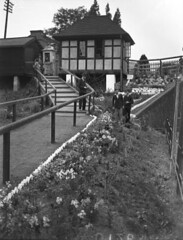Ickenham Entrance 1933 (Funny Cyclist) Tags: ickenham station tube underground london rail train