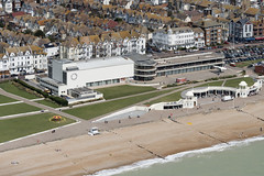 Bexhill on Sea - De La Warr Pavilion & The Colonnade - aerial image (John D Fielding) Tags: delawarr pavillion delawarrpavillion bexhill bexhillonsea eastsussex sussex coast coastline beach seaside coastal above aerial nikon d810 hires highresolution hirez highdefinition hidef britainfromtheair britainfromabove skyview aerialimage aerialphotography aerialimagesuk aerialview viewfromplane aerialengland britain johnfieldingaerialimages fullformat johnfieldingaerialimage johnfielding fromtheair fromthesky flyingover fullframe cidessus antenne hauterésolution hautedéfinition vueaérienne imageaérienne photographieaérienne drone vuedavion delair birdseyeview british english