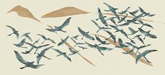 A Arte da Fuga - Quinta Essentia (nilton44) Tags: pássaros arte design gráfico fuga bach