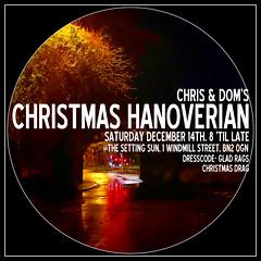 Christmas Hanoverian~Saturday December 14th, 8 'til late @ The Setting Sun
