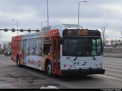 Winnipeg Transit #142 (vb5215's Transportation Gallery) Tags: winnipeg transit 2011 new flyer d40lfr