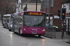 VX54MRU (Service Dolphin) Tags: colchester essex buses first alexander dennis
