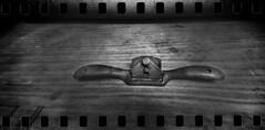 2589 Spokeshave. (Monobod 1) Tags: ondu 135 panoramic ilford fp4 kodak hc110 pinhole lensless epsonv800