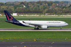 OO-SFZ - Brussels Airlines - Airbus A330-223 (5B-DUS) Tags: oosfz brussels airlines airbus a330223 a332 dus eddl dusseldorf düsseldorf airport airplane aircraft aviation flughafen flugzeug planespotting plane spotting