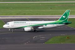 YI-ARD - Iraqi Airways - Airbus A320-214 (5B-DUS) Tags: yiard iraqi airways airbus a320214 a320 dus eddl dusseldorf düsseldorf airport airplane aircraft aviation flughafen flugzeug planespotting plane spotting