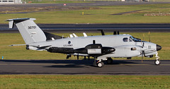 93-00701 (PrestwickAirportPhotography) Tags: egpk prestwick airport us army united states beechcraft rc12 9300701