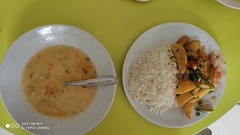 Vegetarian Lunch - Abancay, Peru (John Meckley) Tags: peru abancay vegetarian food