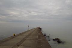 Tranquility 3 (jadedirishgryphon) Tags: lakemichigan calm sheboygan wisconsin autumn