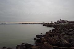 Tranquility 2 (jadedirishgryphon) Tags: lakemichigan calm sheboygan wisconsin autumn