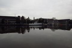 Tranquility 1 (jadedirishgryphon) Tags: riverfront calm sheboygan wisconsin autumn