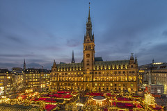 Hamburg Germany at christmas, with christmas market in the front of the town hall (gerckens.photo - hamburg) Tags: advent adventcalendar alster attraction background brightlights brightlightsbackground candlelights carols christmas christmasmarket church city cityhall cityscape december decoration deutschland entrance europe evening germany hamburg holiday houseofparliament illuminated inneralster landmark lights market night panoramic rathaus rathausmarkt reindeer spire square tourism town townhall travel tree view weihnachten weihnachtlicheshamburg weihnachtsmarkt winter xmas