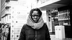 woman (Rigpa22) Tags: street streetphotography strasse sw schwarz bw black people portrait