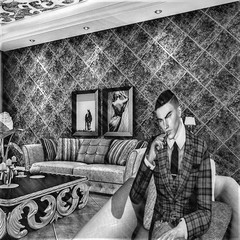 """ Bugsy "" (maka_kagesl) Tags: secondlife game games sl videogames gaming virtual videogame portrait pose photography photo avatar picture posing pic bw grey blackwhite screenshot snapshot snap avi mob art mobster mafia bugsy siegel cosanostra lacosanostra"