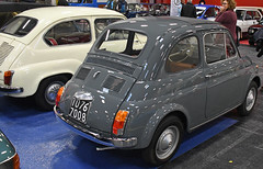 Fiat 500 F (1966) // TO-767008 (baffalie) Tags: auto voiture ancienne vintage classic old car coche rétro expo italia sport automobile racing motor show collection club course race circuit italie turin fiera