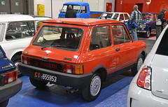 Autobianchi A 112 Abarth (1984) // CT-655953 (baffalie) Tags: auto voiture ancienne vintage classic old car coche rétro expo italia sport automobile racing motor show collection club course race circuit italie turin fiera