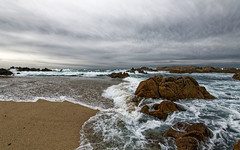 Beach (Doug Santo) Tags: pacificgrove beach storm seascape landscapephotography