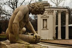 W Łazienkach (Grzesiek.) Tags: łazienki baths royal warsaw wrocław rzeźby sculpture