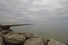 Tranquility 4 (jadedirishgryphon) Tags: lakemichigan calm sheboygan wisconsin autumn