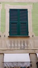 Chiuso fuori (Aellevì) Tags: gatto disegno muro chiuso persiana verde