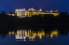 Pushkar to Udaipur (Ninara) Tags: udaipur india rajasthan road hotel lake night reflection radisson