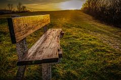 Posezení na okraji světa (Radebe27) Tags: lavićka sunset zapadslunce beskydy beskiden czechrepublic ceskarepublika morava sony nex6 autumn podzim
