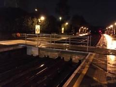 Ickenham SFA polybridge (Funny Cyclist) Tags: ickenham station tube underground london rail train