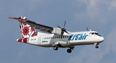 ATR42 | UR-UTE | VKO | 20110818 (Wally.H) Tags: atr42 urute utairukraine vko uuww moscow vnukovo airport