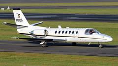 97-00105 (PrestwickAirportPhotography) Tags: egpk prestwick airport united states army us cessena citation uc35a 9700105