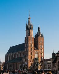 The Icon (Konrad Niechwiej) Tags: cracow krakow lesser poland main square saint mary basilica church religion landmark