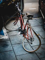 Dali's bike? (Konrad Niechwiej) Tags: bike damage wheel cycling cracow krakow lesser poland vandalism