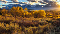 Golden Hour (chasingthelight10) Tags: events photography travel landscapes highdesert mountains places wyoming grandtetonnationalpark