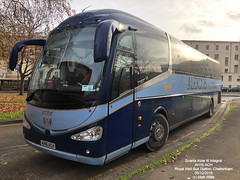 ALEXCARS OF CIRENCESTER SCANIA IRIZAR i6 INTEGRAL AH16 ACH ROYAL WELL BUS STATION CHELTENHAM 05122019 (MATT WILLIS VIDEO PRODUCTIONS) Tags: alexcars of cirencester scania irizar i6 integral ah16 ach royal well bus station cheltenham 05122019